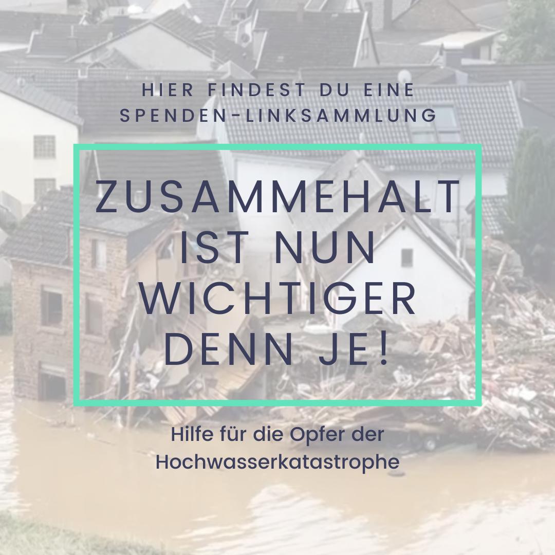Spendenliste für Hochwasseropfer